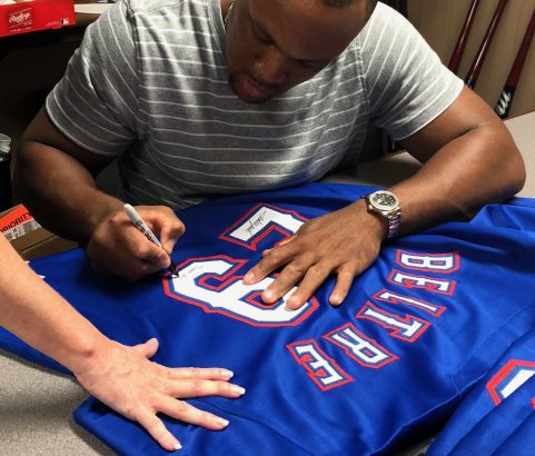 Adrian Beltre Signing