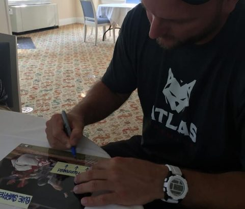 AJ Pierzynski Private Signing in Cooperstown 5/25/18